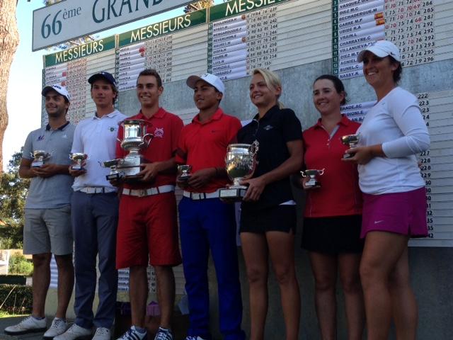 Photo des vainqueurs