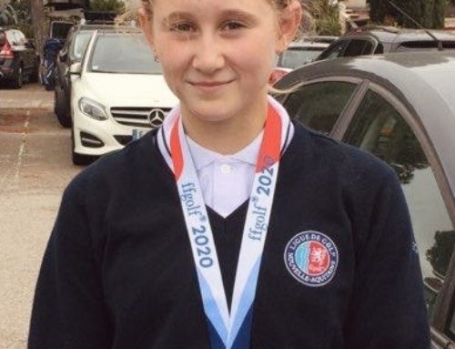 Interligues U12 : Louise KRAWIEC sur le podium